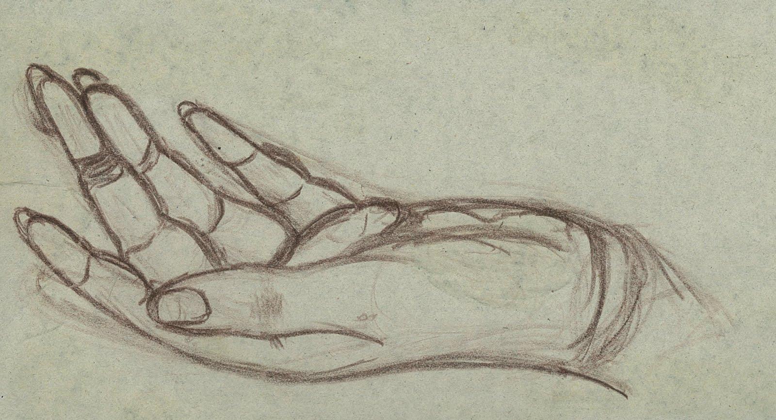 Kris Art Works Hand Line Drawing