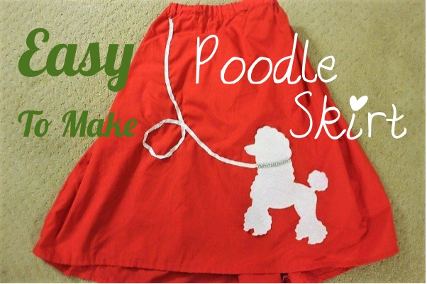 Clearwater Cottage How To Make A Poodle Skirt