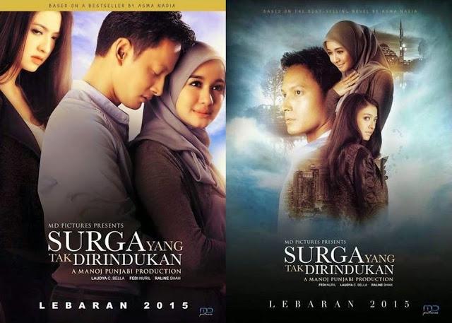 surga yang tak dirindukan, filem indonesia, syurga yang tak dirindukan, indonesia, fedi nurul, cintya bella, review surga yang tak dirindukan