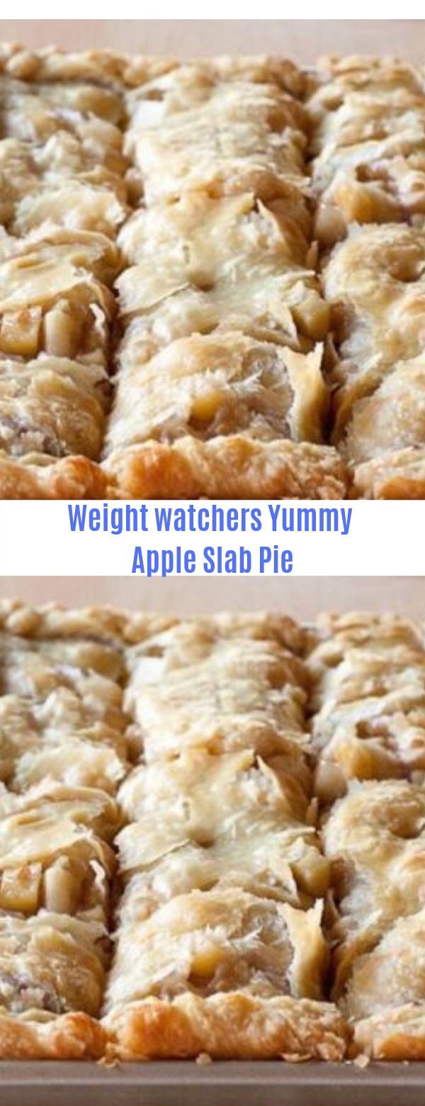 Weight Watchers Yummy Apple Slab Pie