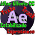 VIDEO CURSO ADOBE AFTER EFFECTS CC TEXTO ESTABILIZADO TRACK EXPRESIONES