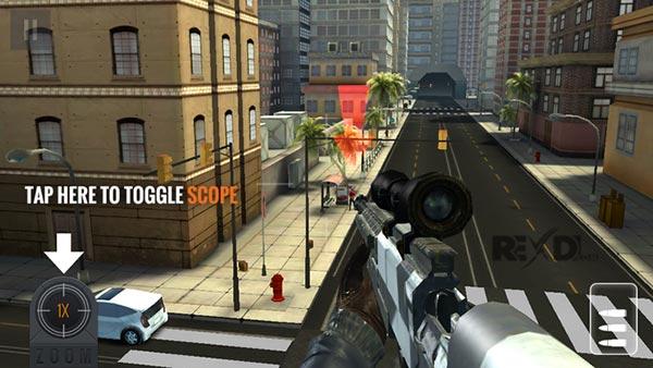تحميل لعبه Sniper 3D Assassin مهكره