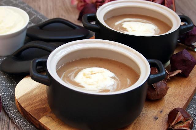 Maronen-Creme-Suppe