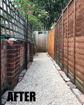 victorian alley before and after