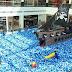 """Campinas Shopping  recebe Aventura Pirata em """"mar"""" de bolinhas azuis e brancas"""