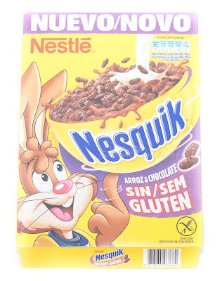 Nesquik Cereales sin gluten