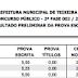 EXCLUSIVO: Resultado da segunda fase do concurso público da prefeitura de Teixeira para os cargos de ACS, Motorista e Operador de Maquinas pesadas.