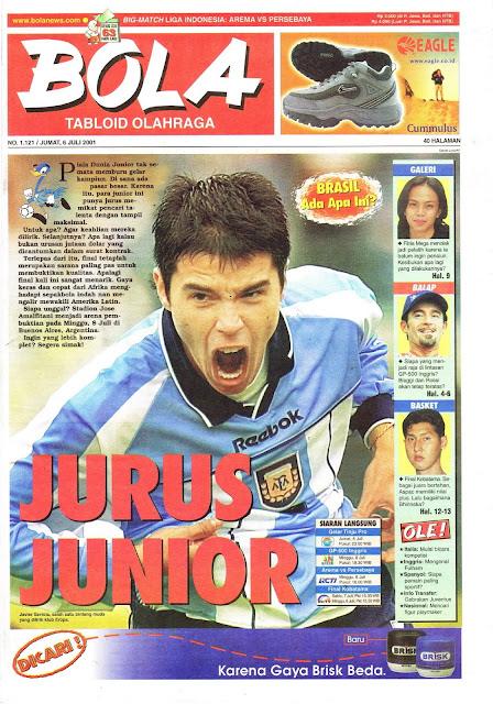 JAVIER SAVIOLA ARGENTINA JUNIOR 2001