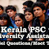 Kerala PSC Model Questions for University Assistant Exam - 95