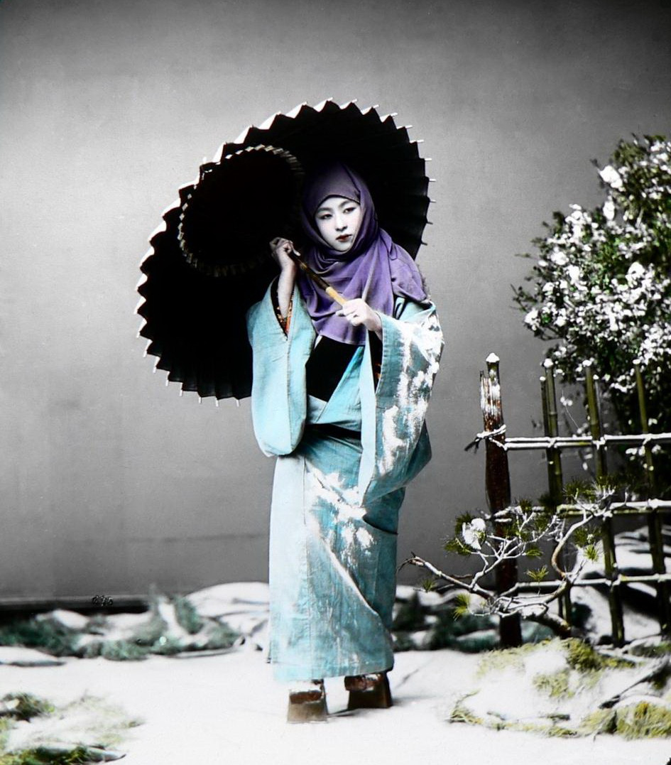 Color Photos Of Life In Japan In The Late 19th Century