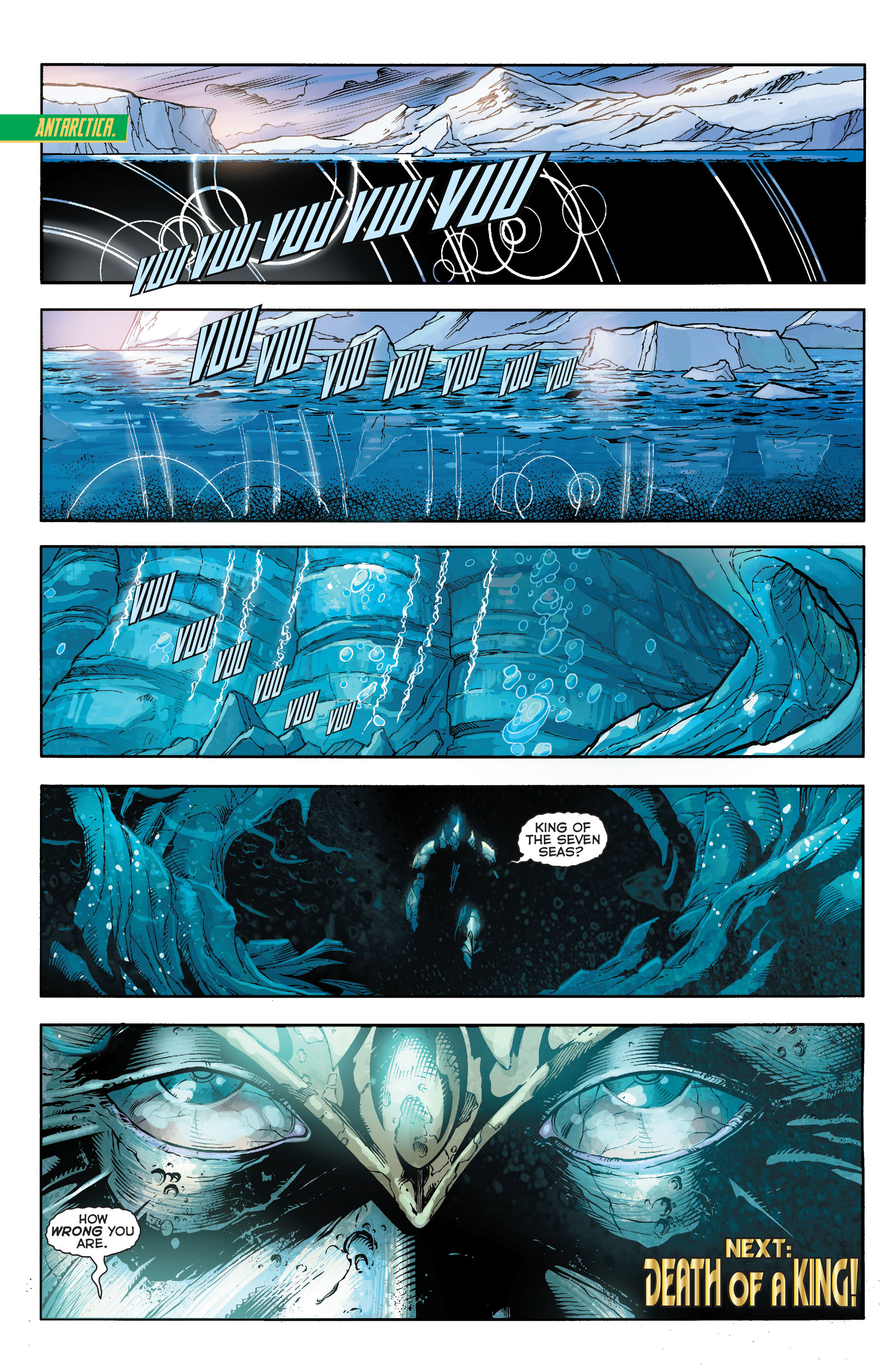 Read online Aquaman (2011) comic -  Issue #17 - 19
