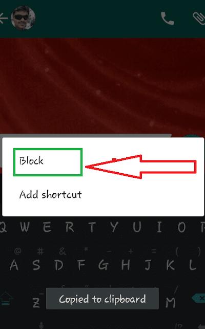 Begini Nih Caranya Memblokir kontak pada whatsapp untuk berhenti menerima pesan 4