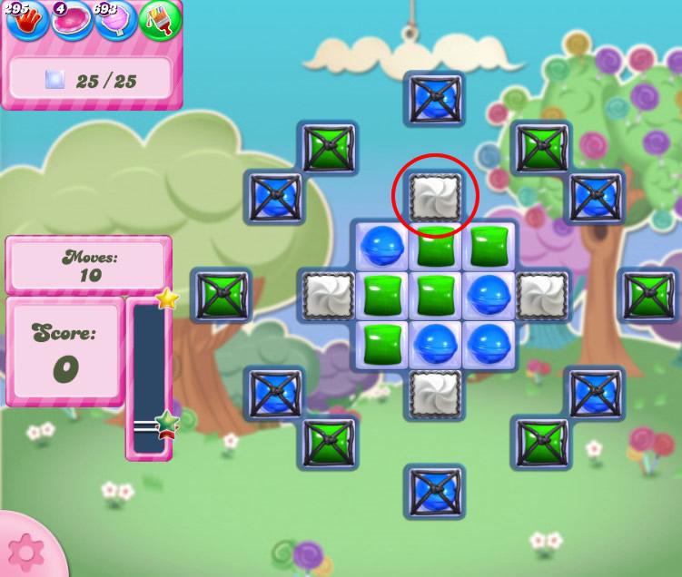 Candy Crush Saga level 2821