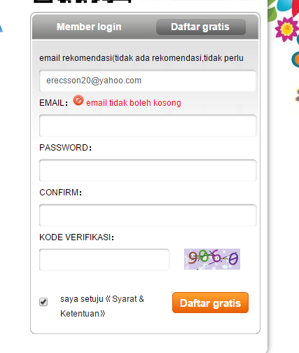 Cara mendaftar dan mengisi survei viewfruit