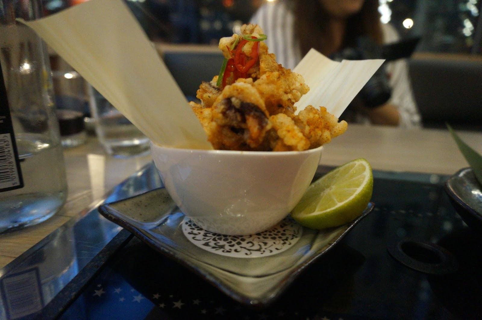 deep fried chilli squid