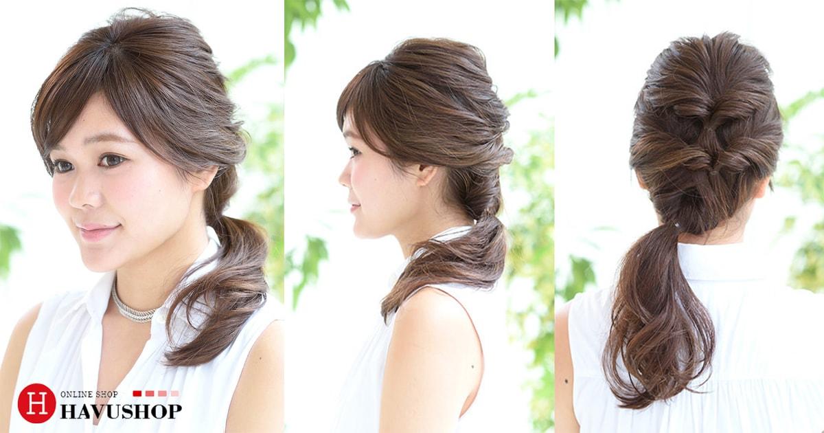 Hoàn thành! Bộ sưu tập những kiểu tóc đơn giản tuyệt đẹp chỉ trong 5 phút