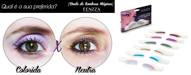 Sombra Mágica Fenzza Make Up