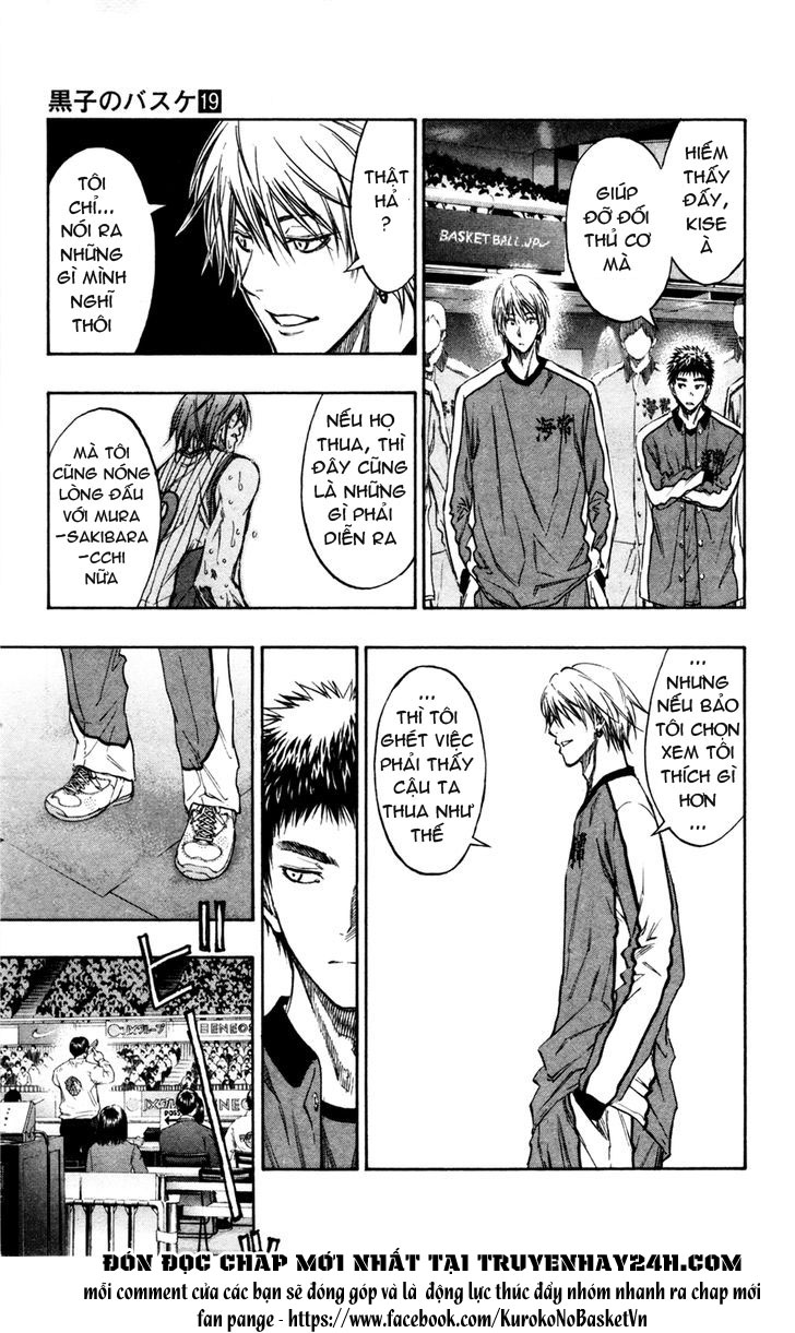 Kuroko No Basket chap 163 trang 7