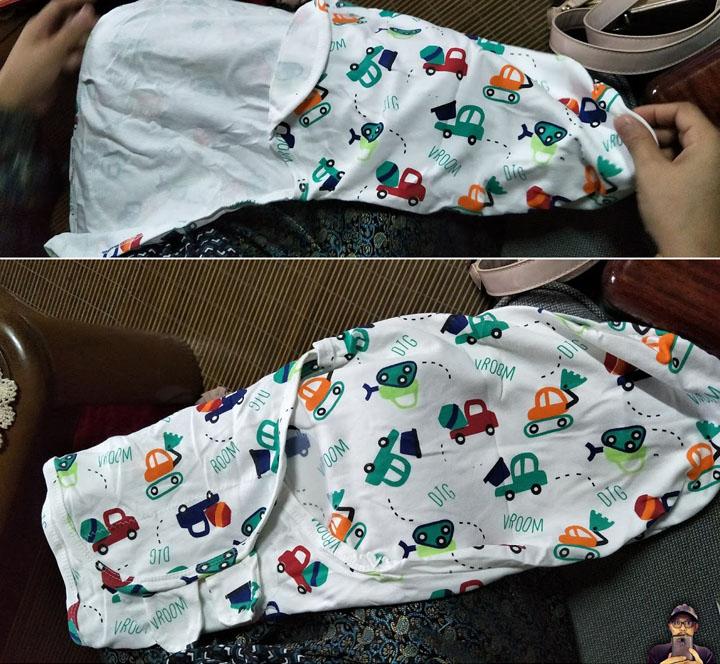 Bedung Moden Untuk Bayi Baru Lahir