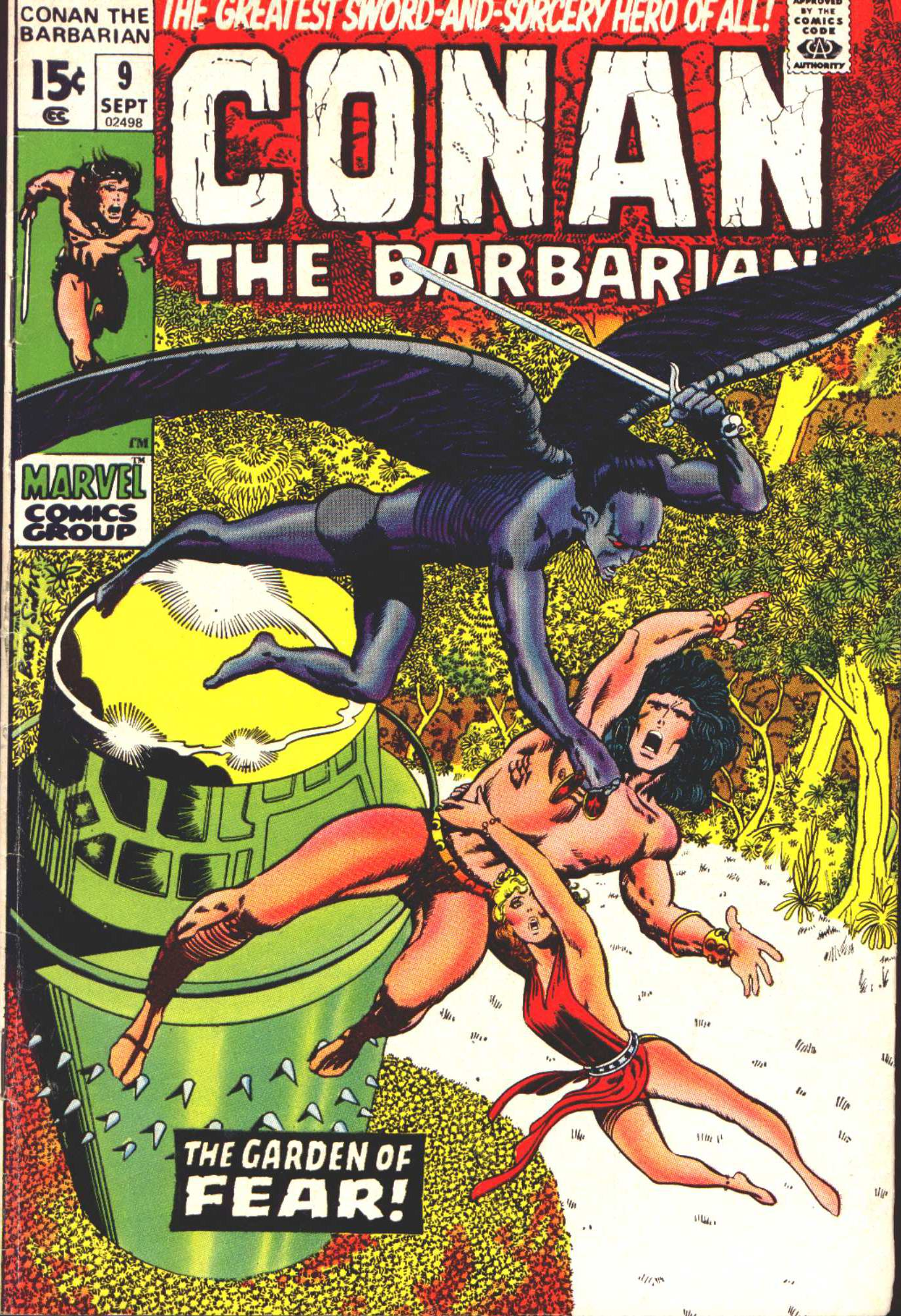 Conan the Barbarian (1970) 9 Page 1