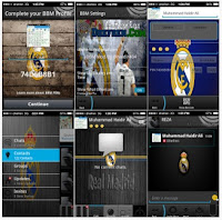BBM MOD Real Madrid for Android Gingerbread