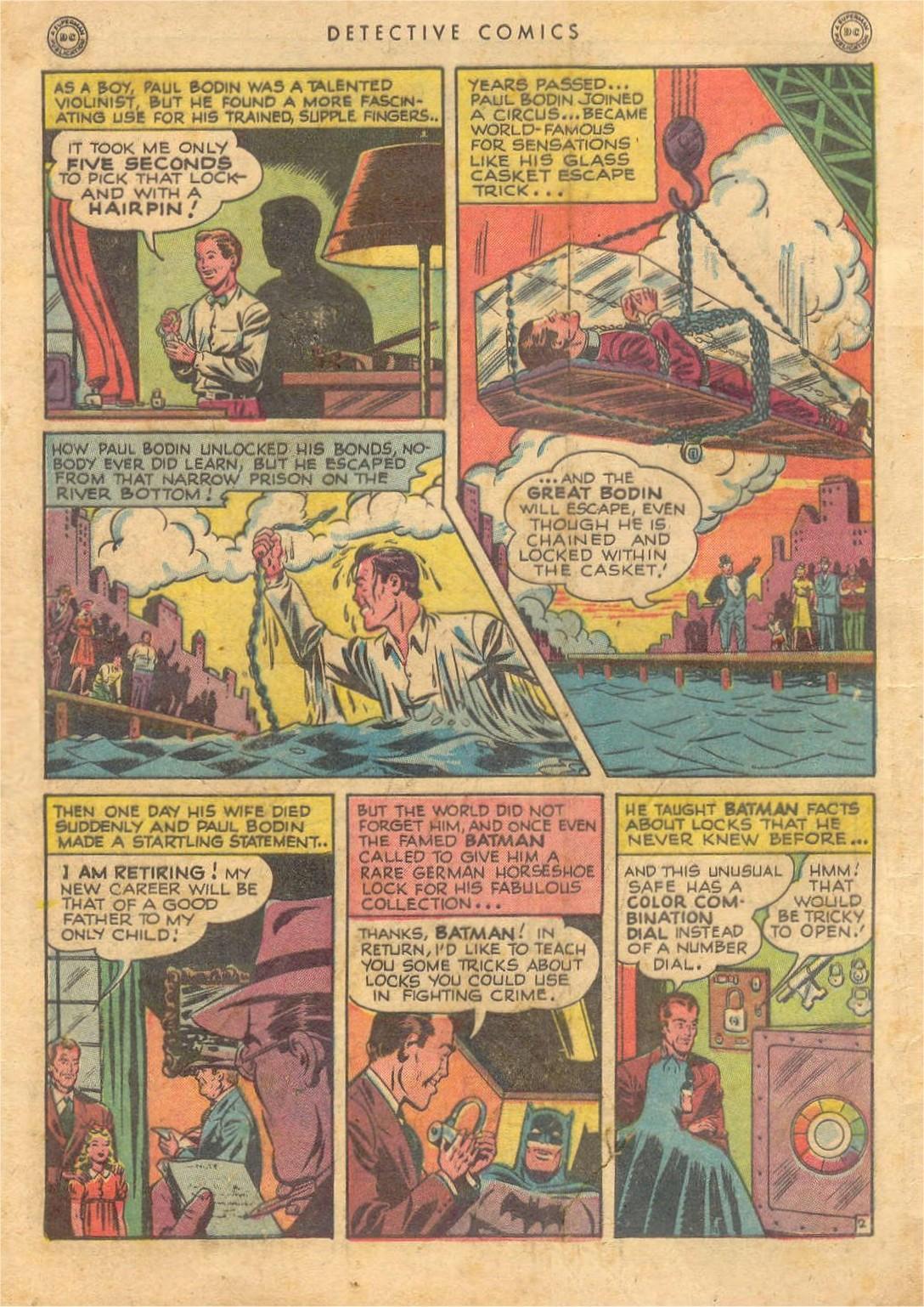 Detective Comics (1937) 132 Page 3
