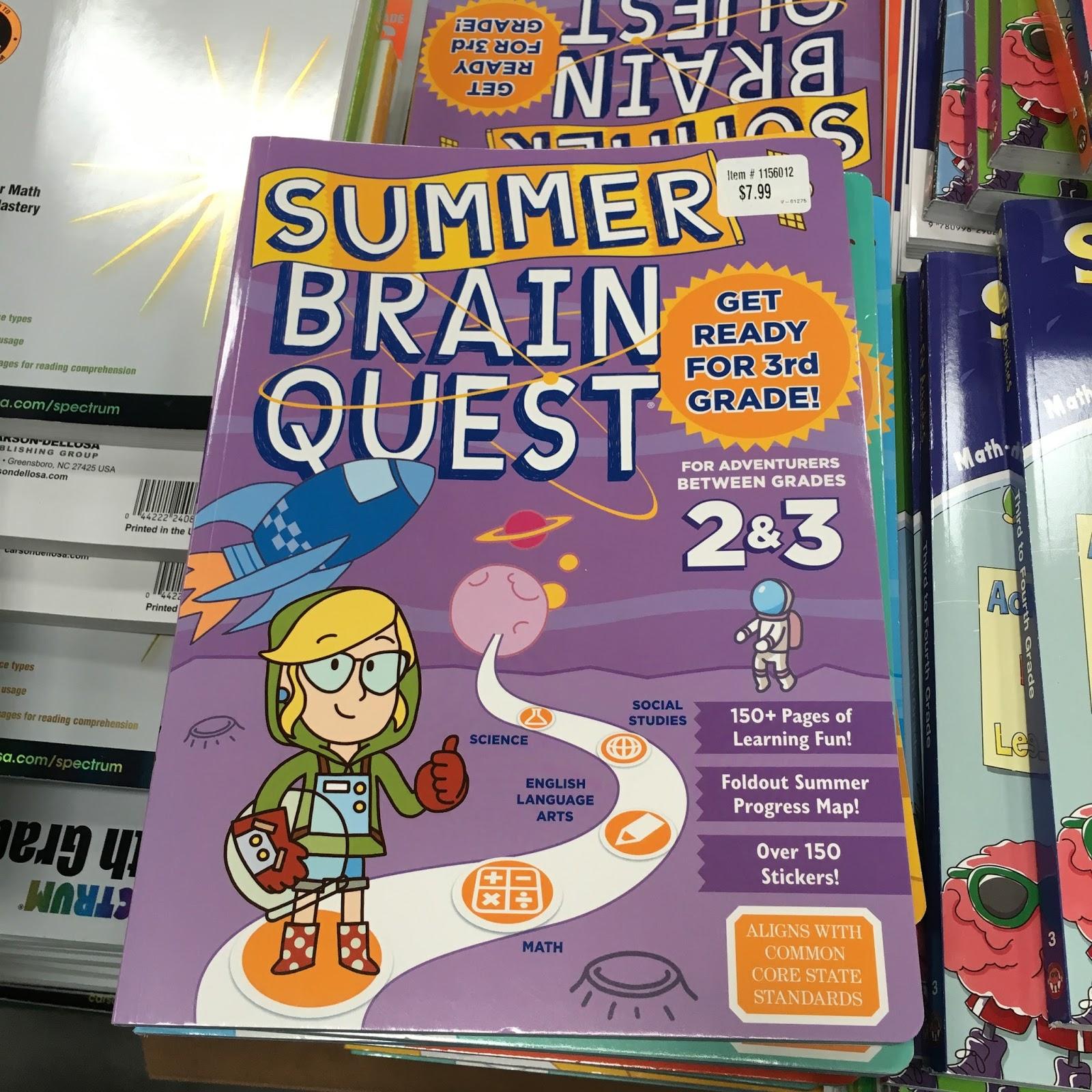 the Costco Connoisseur: Save on Grade School Workbooks at Costco!