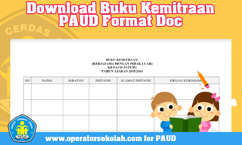 Download Buku Kemitraan PAUD Format Doc