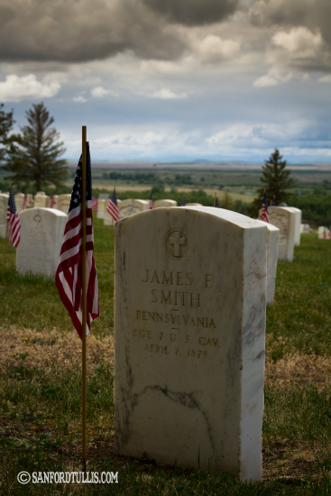 Custer National Cemetery and Little Bighorn l frogslilypad.net