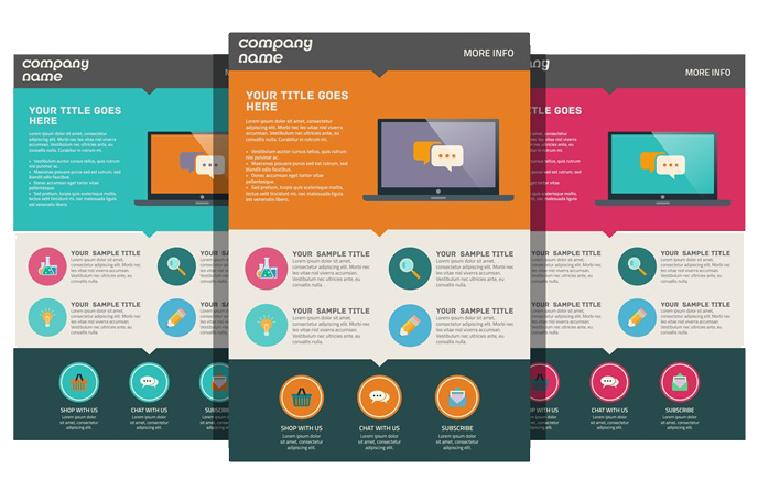 Blogger  Landing pages