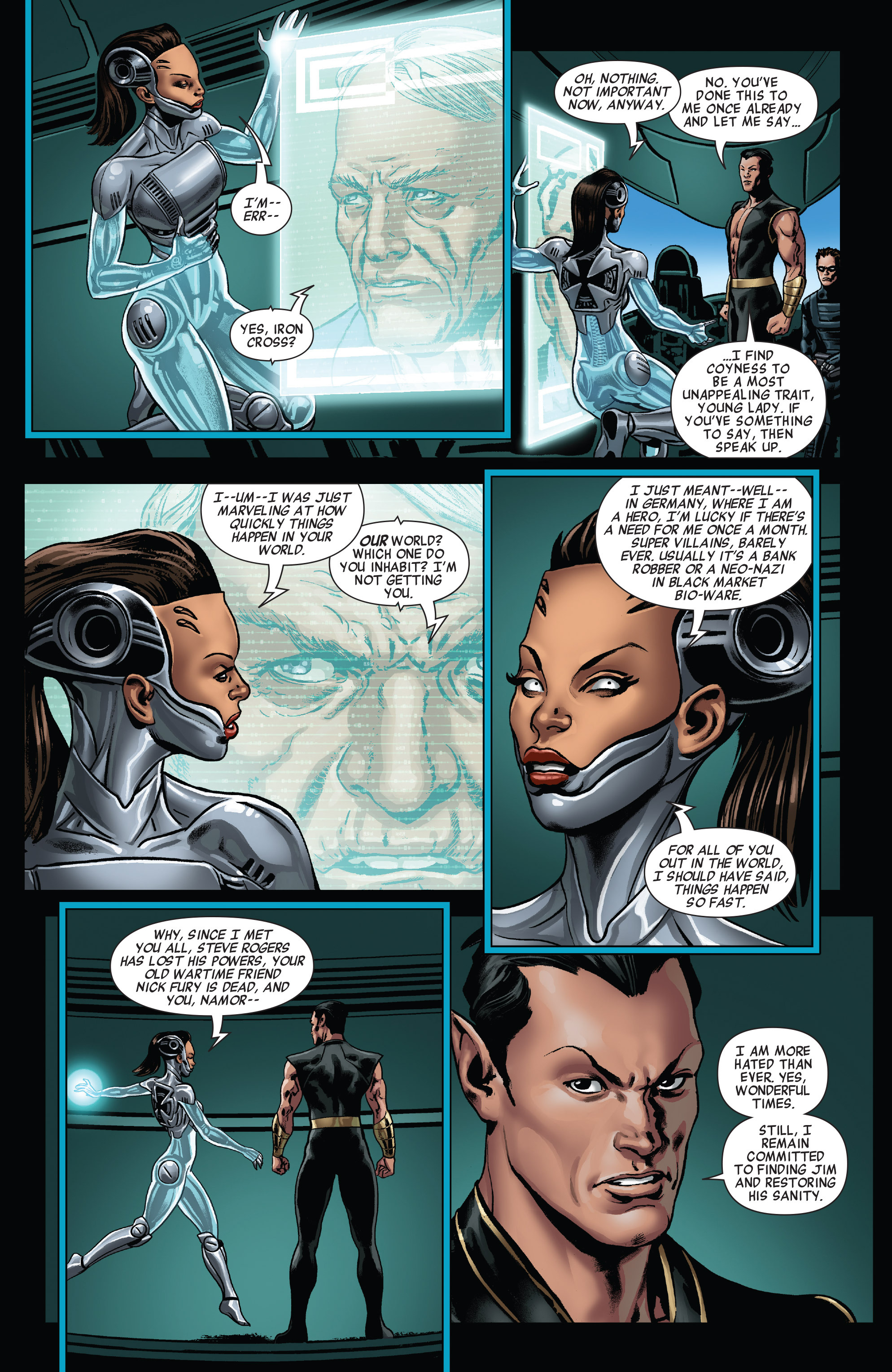 Read online All-New Invaders comic -  Issue #11 - 5