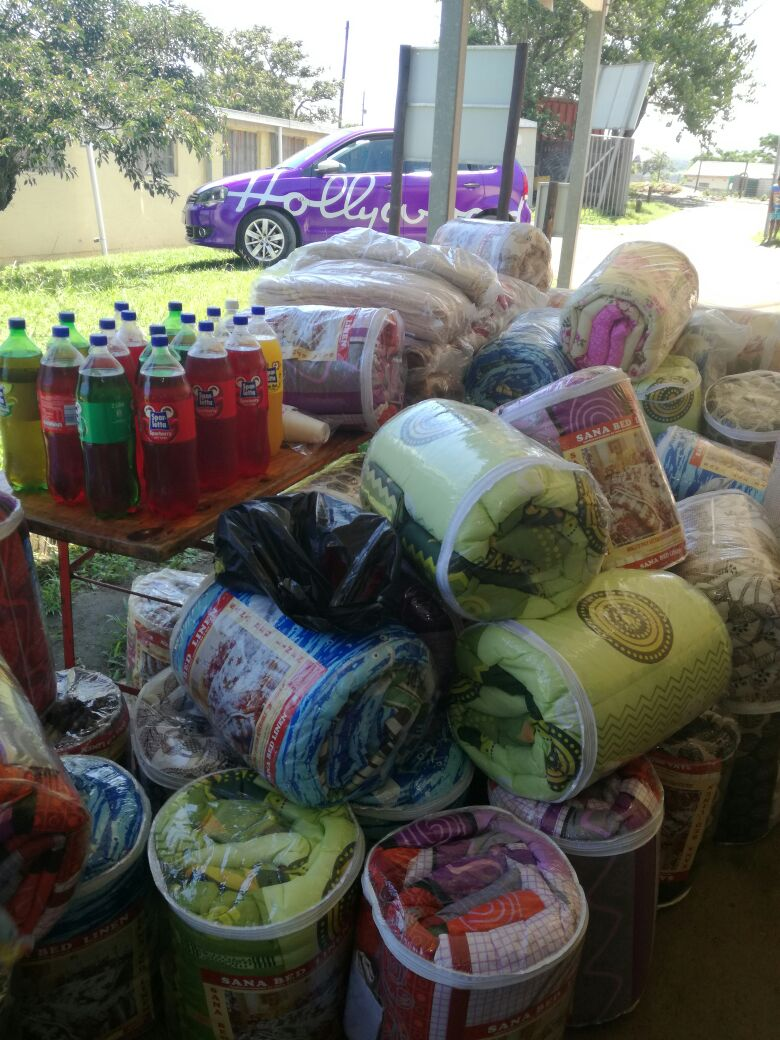 Ubuntu Crisis and Family Care Centre - Donations from Hollywoodbets