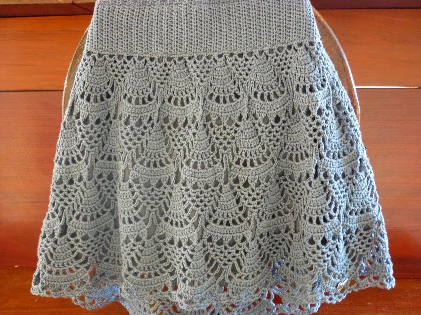 la magia del crochet faldas tejidas al crochet. Black Bedroom Furniture Sets. Home Design Ideas