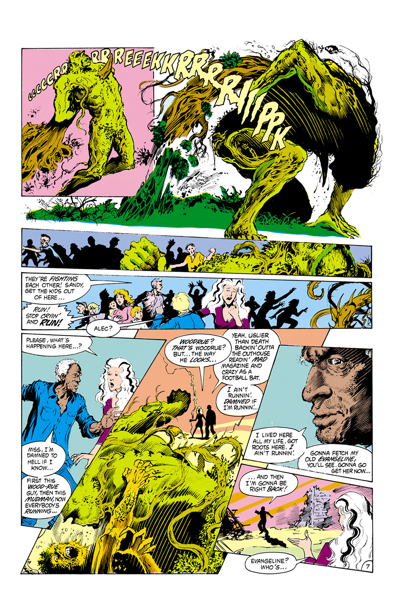 Swamp Thing (1982) Issue #24 #32 - English 8