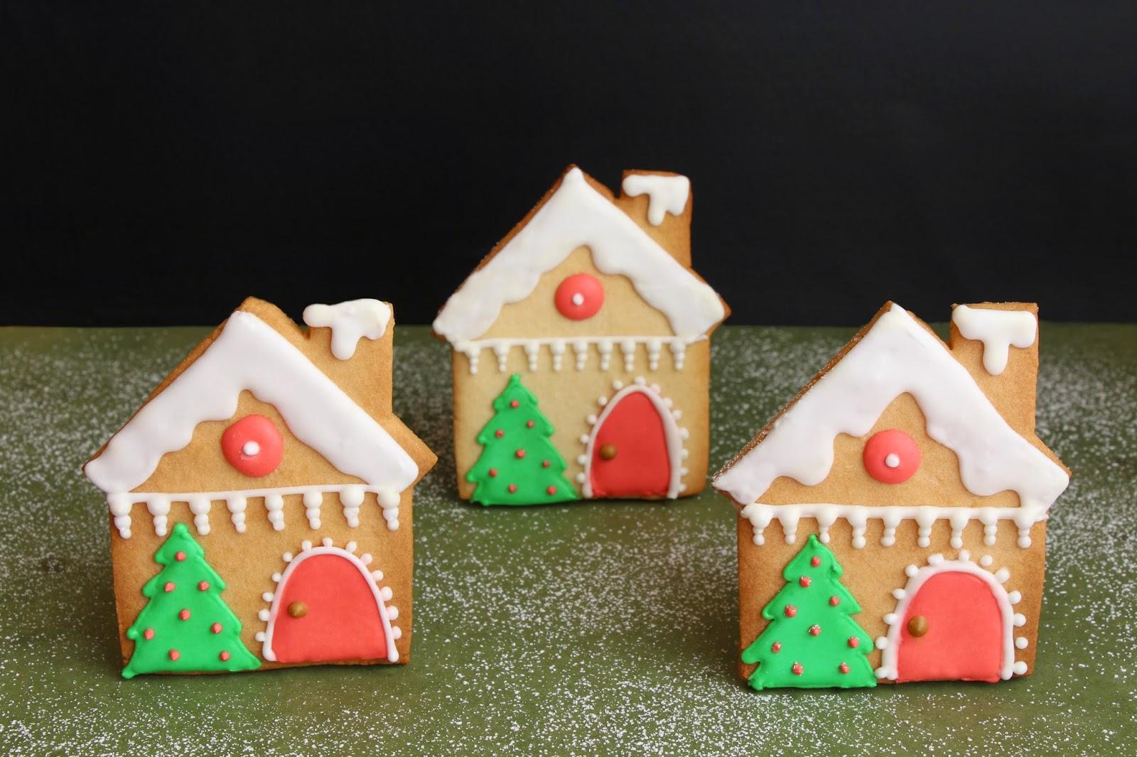 Mardefiesta galletas casitas de navidad - Casitas de navidad ...