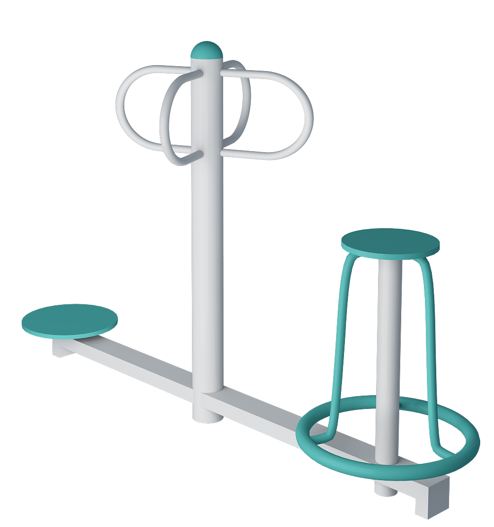 Standing And Sitting Twister Equipment - Outdoor Gym Equipments ...