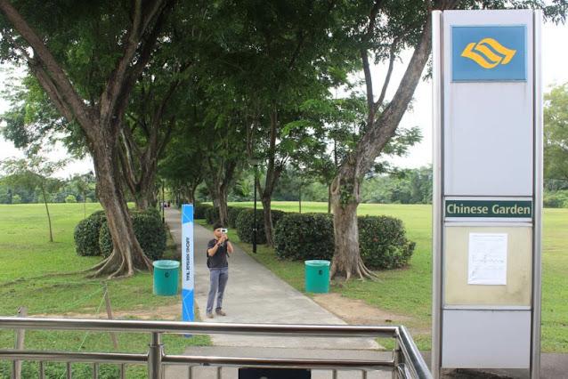 Stasiun MRT Chinese Garden Singapura