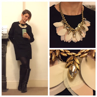 Jesire dress, Stella and Dot Birdie necklace