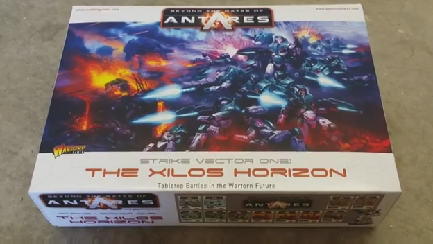 Beyond the Gates of Antares Starter Box Video Review