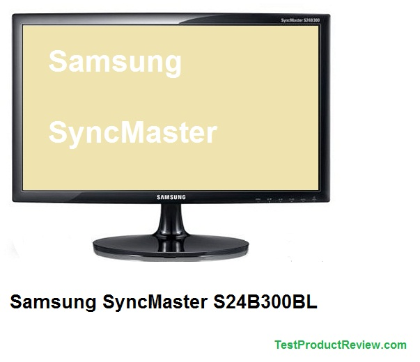 Samsung SyncMaster S24B300BL LED monitor review