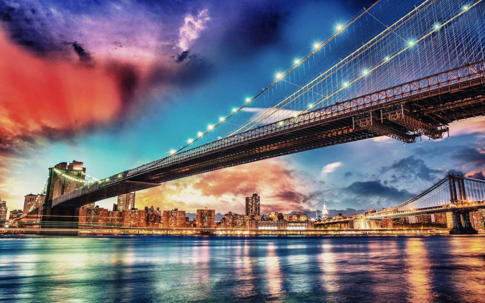 Brooklyn Bridge New York Hd Wide
