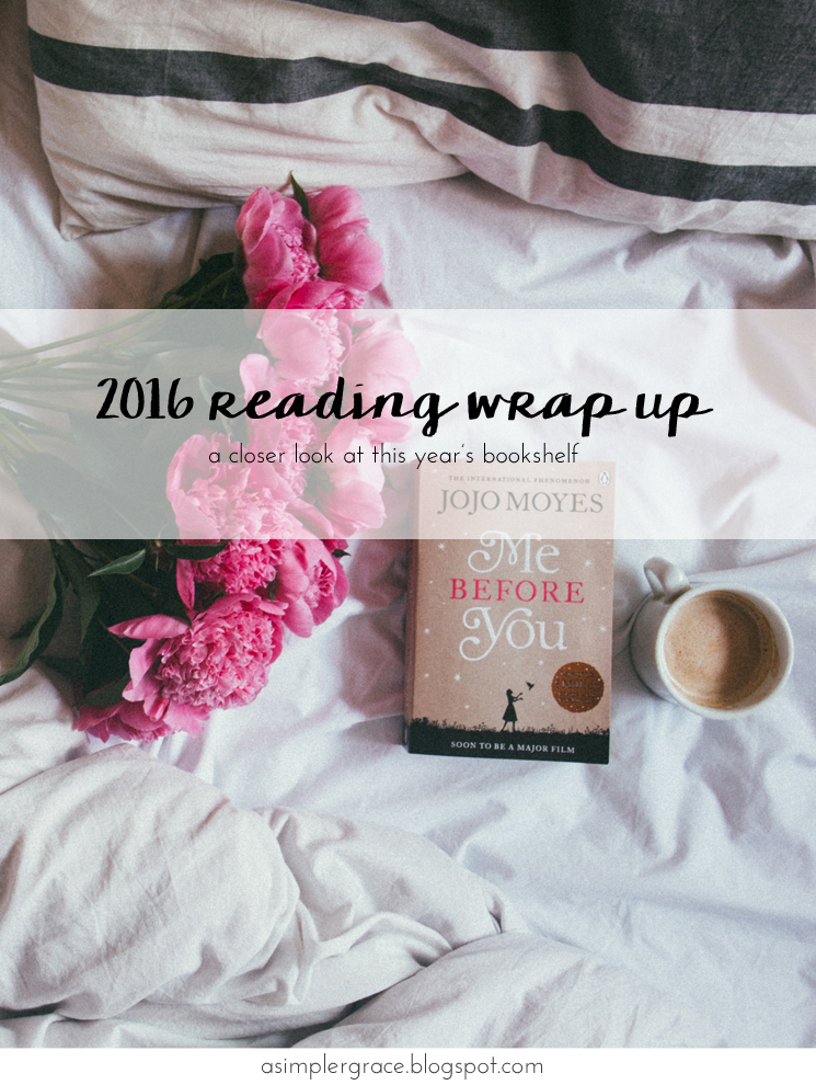 A closer look at this year's bookshelf - 2016 Reading Wrap Up - A Simpler Grace #asgbookshelf
