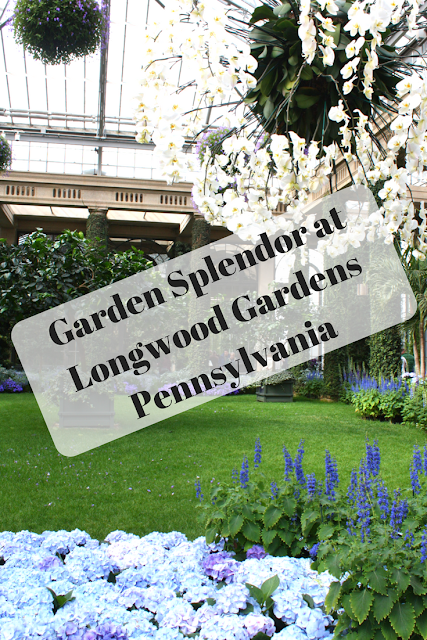 Exploring the gardens and treehouses at Longwood Gardens in Pennsylvania