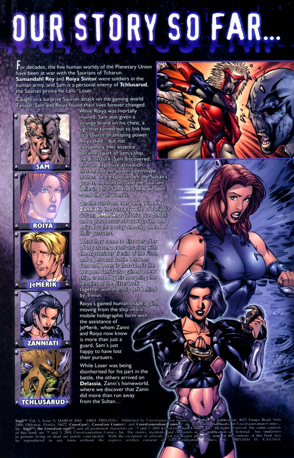 Read online Sigil (2000) comic -  Issue #9 - 2