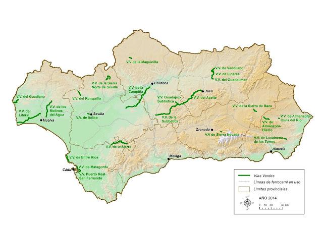 vias verdes, turismo, activo, naturaleza, cadiz, cádiz, provincia, ecoturismo