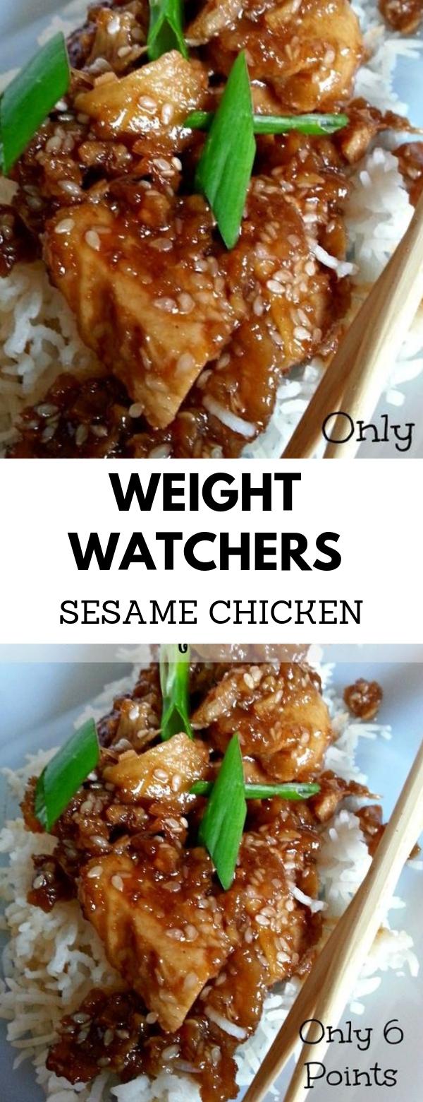 Weight Watchers Sesame Chicken #WEIGHTWATCHERS #CHICKEN #GLUTENFREE #MAINCOURSE