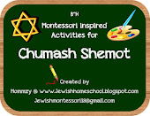 Montessori Inspired Activities for Chumash Shemot