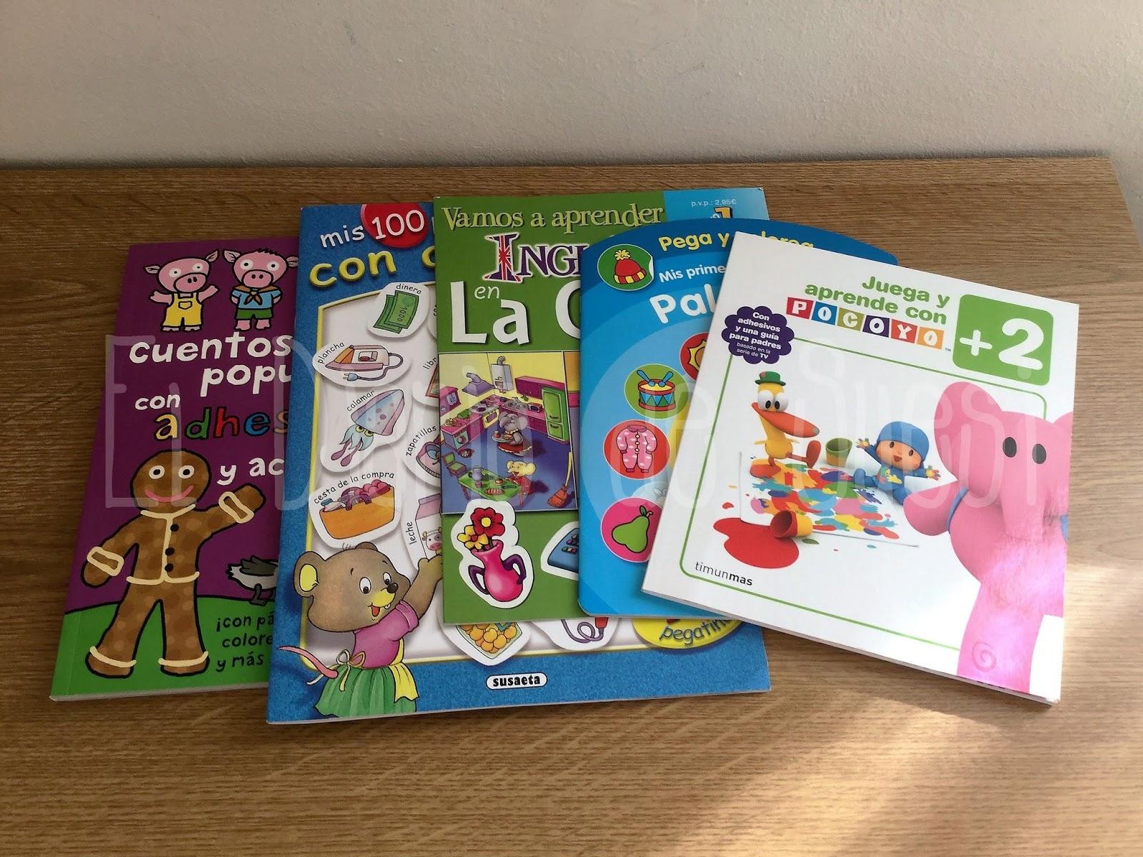 EL DIARIO DE SUESI: Libros infantiles Vol.5 - Colorear y Actividades