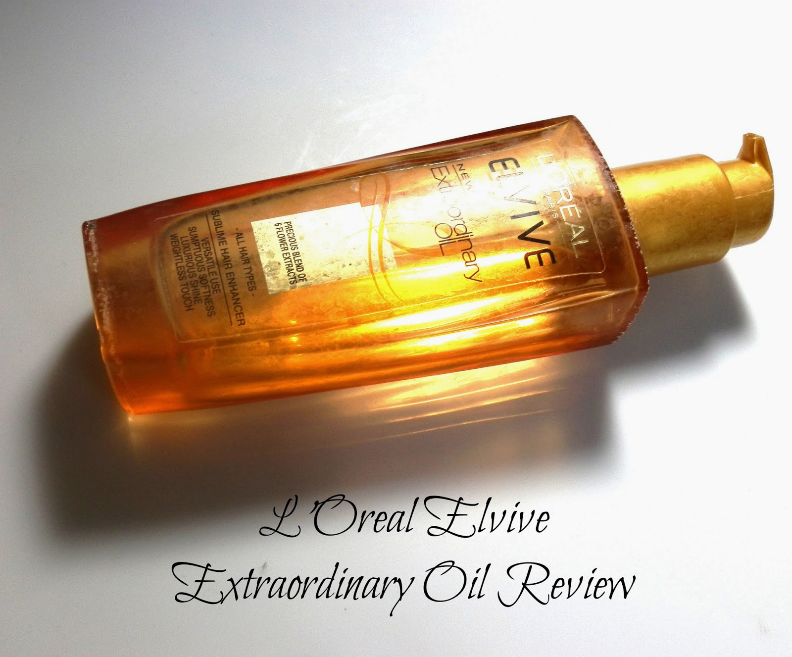 L'Oreal Elvive Extraordinary Oil Review