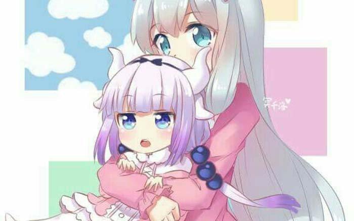Sagiri-chan dan Kanna-chan